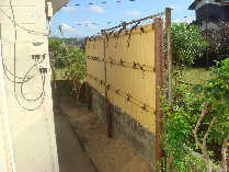 和の庭を簡単に経済的に再現するユニット竹垣